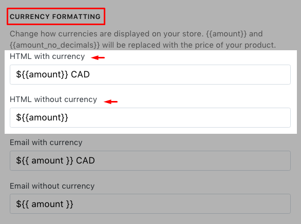 How to modify your money formats in Shopify – Avada Commerce