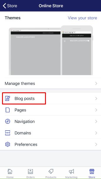 how to link an external blog