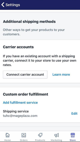 deactivate on-demand delivery services on iPhone 3