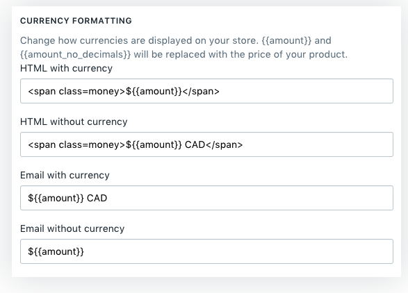remove currency format