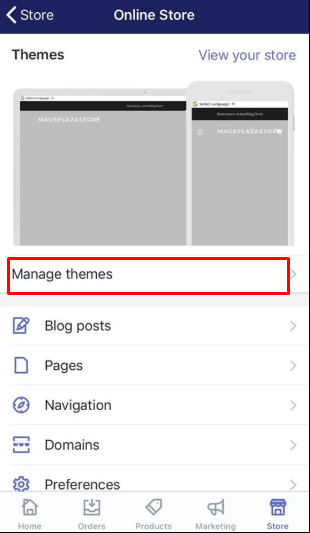 To create a new blog template on iPhone 3