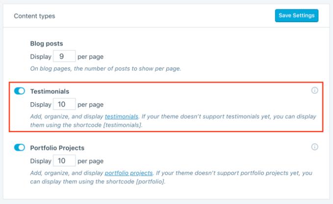 custom content types