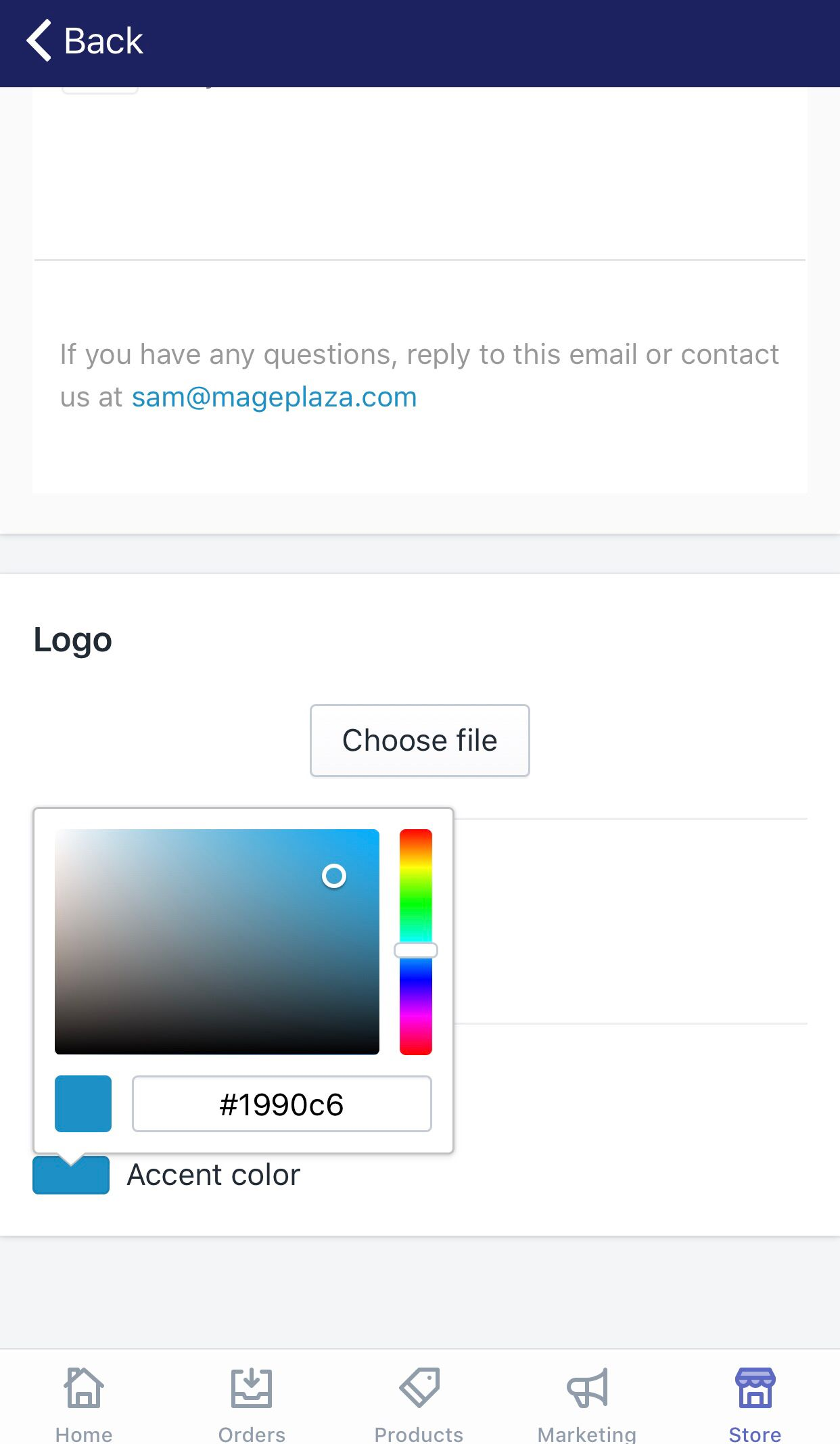 How to choose colors for your email templates
