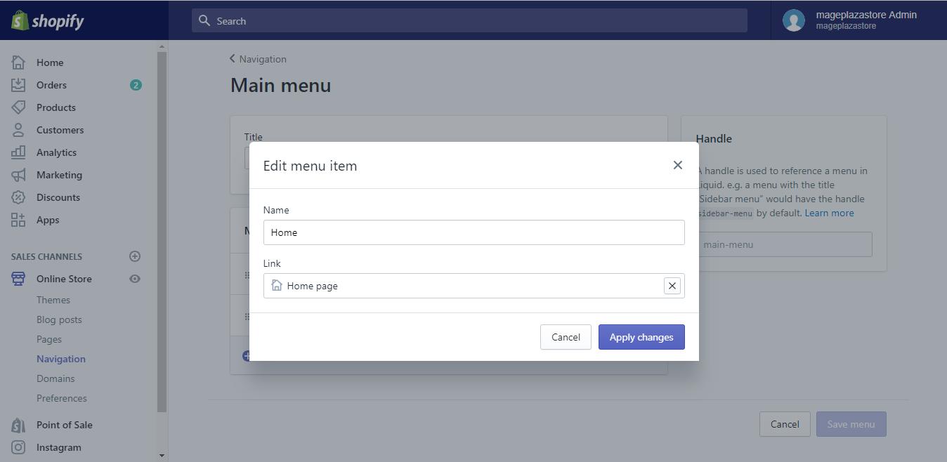 Edit menu item3