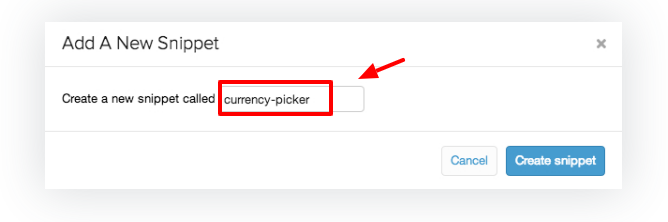 How to generate a second snippet for your toggle button in Shopify