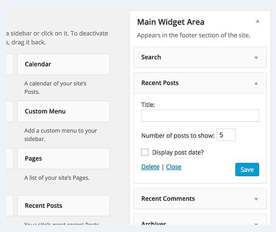 how to display WordPress posts