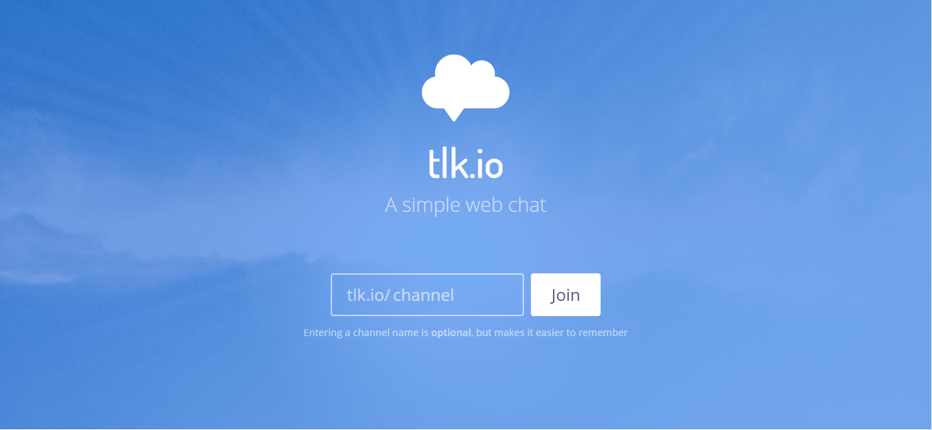 insert the Tlk.io widget