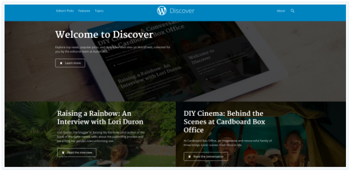 get featured on Discover