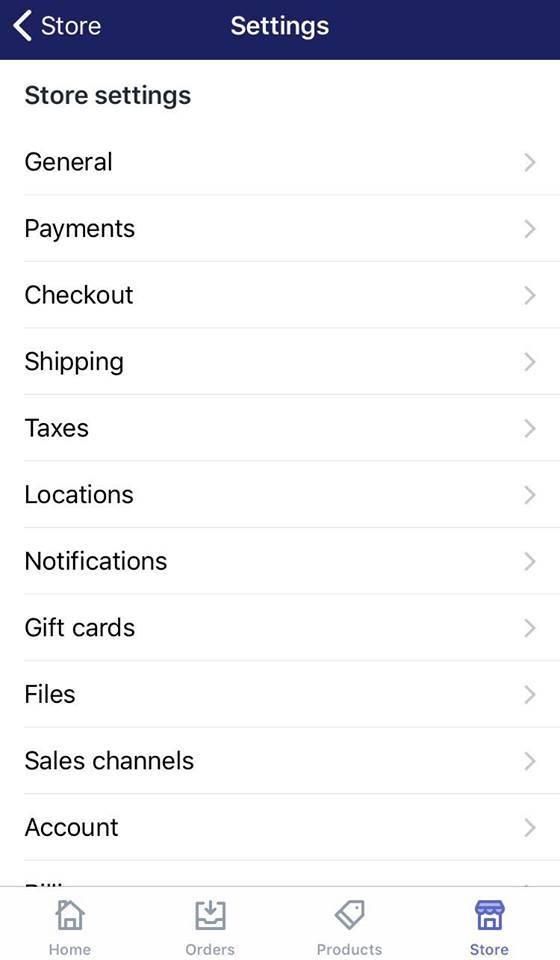 select a new checkout language