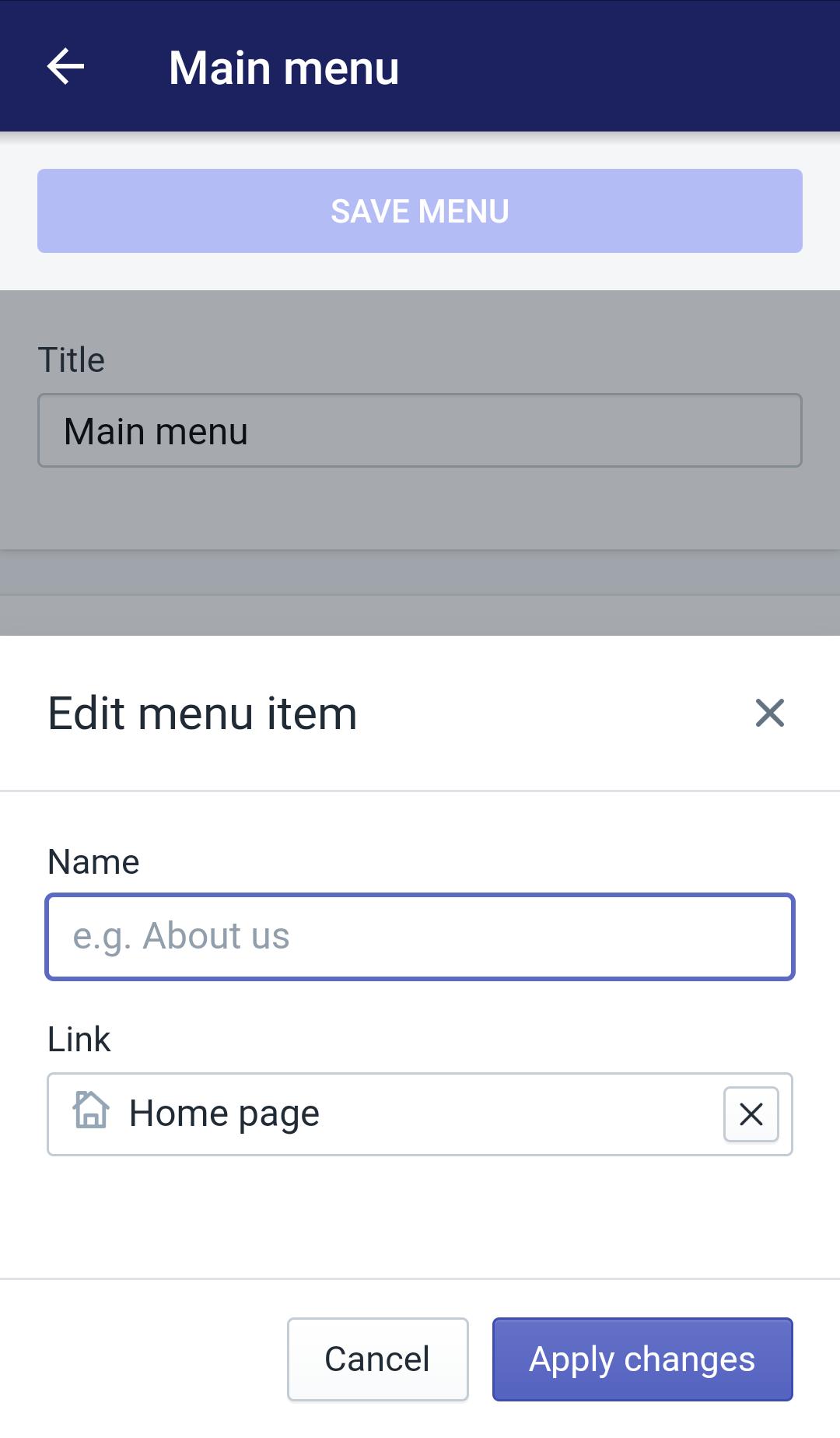 Edit menu item10