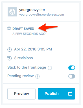 generate and edit post and page screen